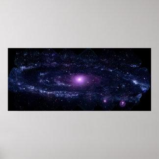 Andromeda in Ultraviolet Print