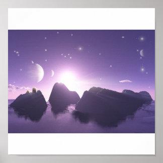 Andromeda Plakatdruck