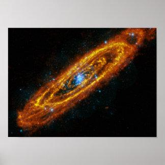Andromeda s Stars Canvas Print