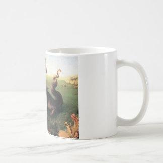 Andromeda saved by Perseus Basic White Mug