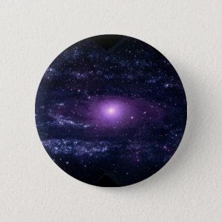 Andromeda Ultraviolet 6 Cm Round Badge