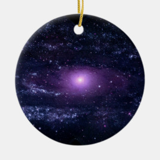 Andromeda Ultraviolet Christmas Ornament