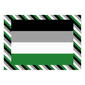 ANDROPHILIA FLAG PATTERN PACK OF CHUBBY BUSINESS CARDS