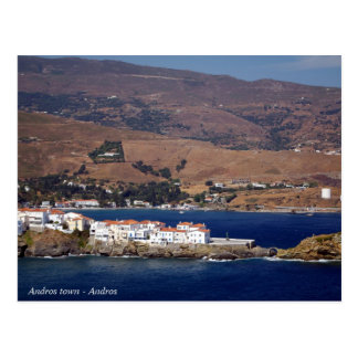 Andros town - Andros Postcard
