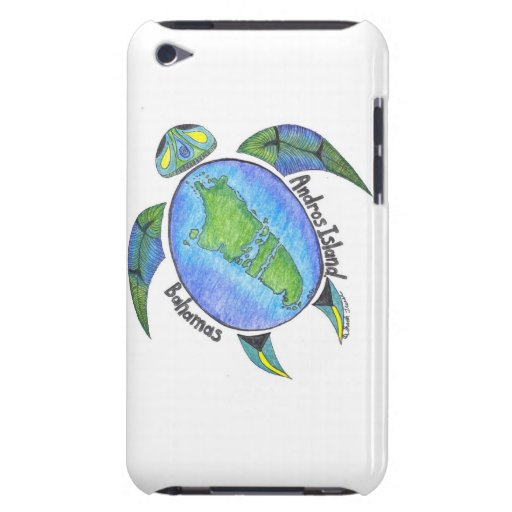 Androsian Turtle Ipod Case (4th Generation) Barely There iPod Case