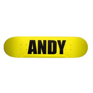 Andy 20.6 Cm Skateboard Deck