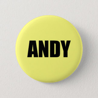 Andy 6 Cm Round Badge