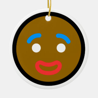"Andy Awesome® Xmas Ornaments ""Gingerbread Man"""
