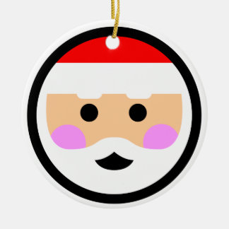 "Andy Awesome® Xmas Ornaments ""Happy Santa"""