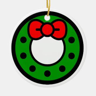 "Andy Awesome® Xmas Ornaments ""Xmas Wreath"""
