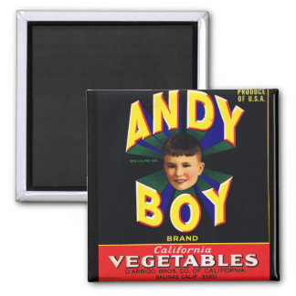 Andy Boy Label Magnet