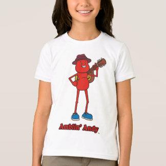 Andy Girls Ringer T-Shirt