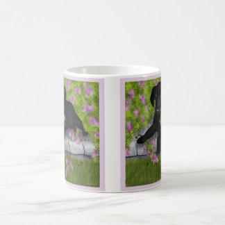 Andy Under the Lilacs coffee mug, Coffee Mug