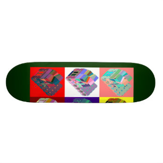 Andy Warlong-Haul CabOver Space Truckers From Mars Skateboard Deck