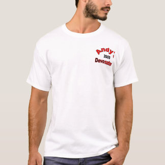 Andys Devonators T-shirt - Customized - Customized