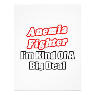 Anemia Fighter...Big Deal Full Color Flyer