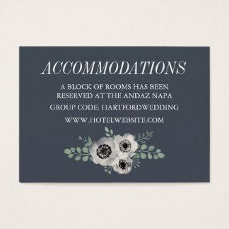 Anemone and Eucalyptus Hotel Accommodation Cards