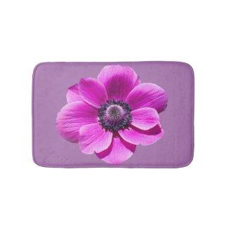 Anemone de Caen Flower Bath Mat