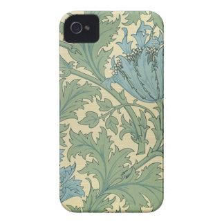 'Anemone' design (textile) Case-Mate iPhone 4 Cases