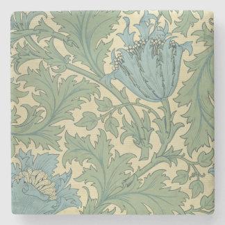 'Anemone' design (textile) Stone Coaster