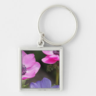 Anemone Flower Keychain