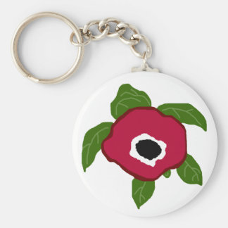 Anemone  Flower sea turtle key chain