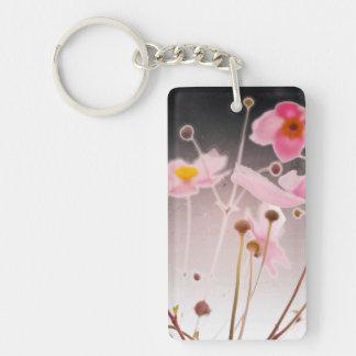 anemone acrylic keychain