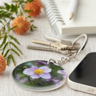 Anemone Acrylic Key Chain