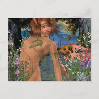 Anemone Postcard