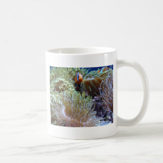 anemone, with peeking clown fish mug