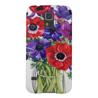 Anemones in a Glass Jug Case For Galaxy S5