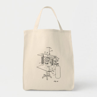 Anesthesia Machine Grocery Tote