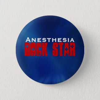 Anesthesia RockStar 6 Cm Round Badge