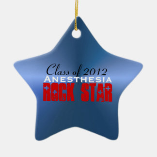 Anesthesia RockStar Ceramic Star Decoration