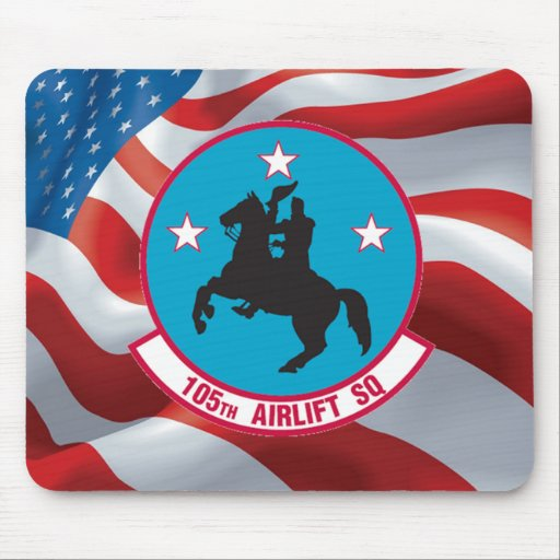 ANG 105th Airlift Squadron Mouse Pads