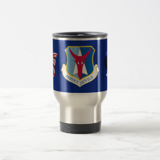 ANG 177th Fighter Wing 15 Oz Stainless Steel Travel Mug