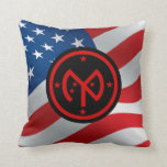 ANG 27th Infantry Brigade Combat Team Throw Pillow