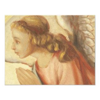 Angel 11 Cm X 14 Cm Invitation Card