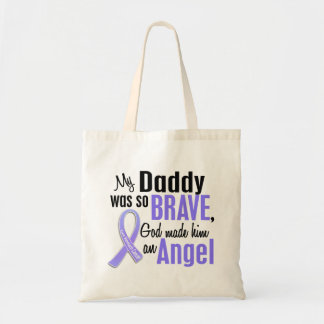 Angel 1 Daddy Stomach Cancer Tote Bag