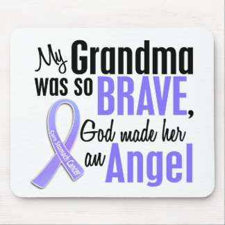 Angel 1 Grandma Stomach Cancer Mouse Mat