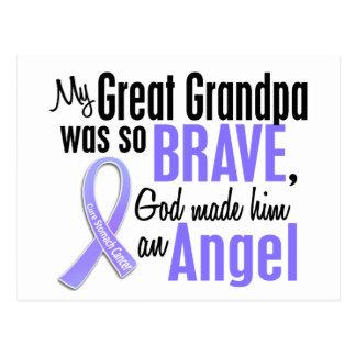 Angel 1 Great Grandpa Stomach Cancer Postcard