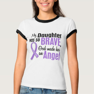 Angel 1 Hodgkins Lymphoma Daughter Shirt