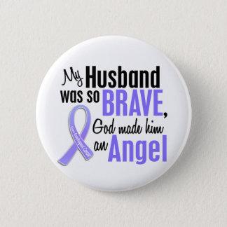 Angel 1 Husband Esophageal Cancer 6 Cm Round Badge