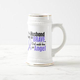Angel 1 Husband Stomach Cancer Coffee Mug