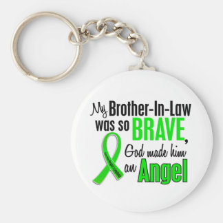 Angel 1 Non-Hodgkins Lymphoma Brother-In-Law Key Chains