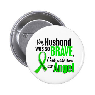 Angel 1 Non-Hodgkin's Lymphoma Husband 6 Cm Round Badge