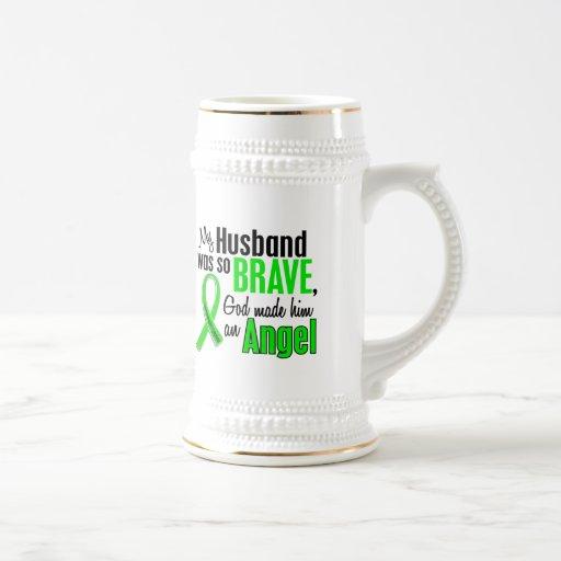 Angel 1 Non-Hodgkin's Lymphoma Husband Coffee Mugs