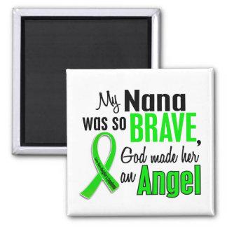 Angel 1 Non-Hodgkin's Lymphoma Nana Square Magnet
