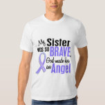 Angel 1 Sister Stomach Cancer T Shirt