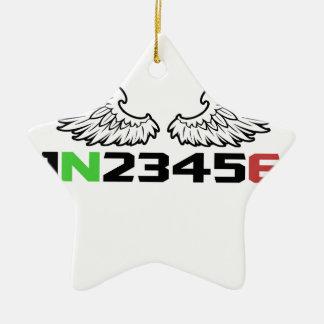 angel 1N23456 Christmas Ornament